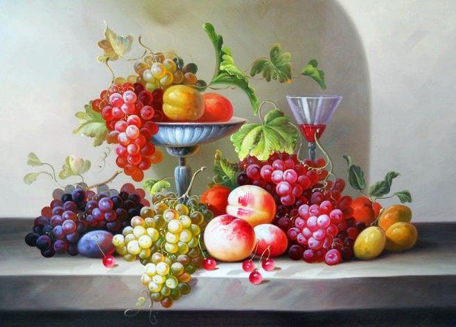 Still life oil paintings on canvas | ... life,still life oil ...