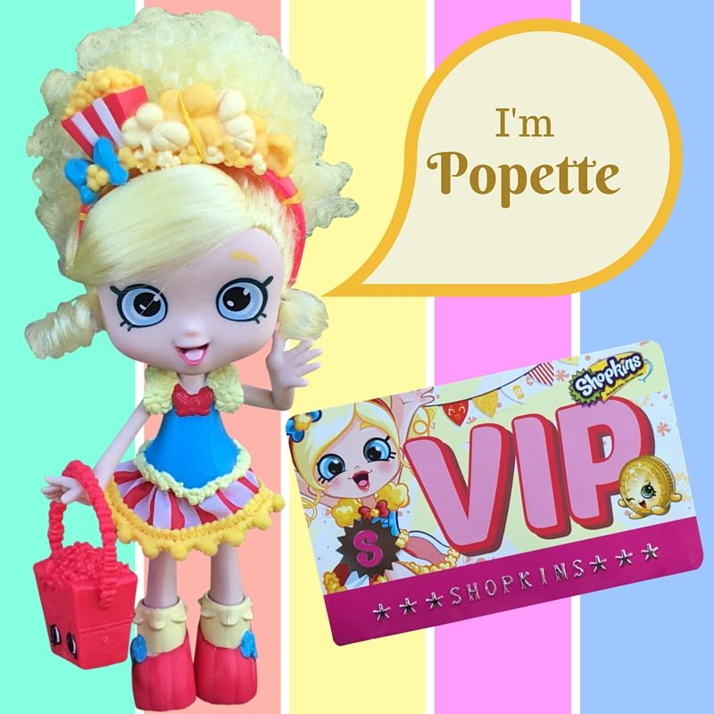 Popette Shoppies Doll from Season 1 - VIP Only! - Best Gifts Top Toys
