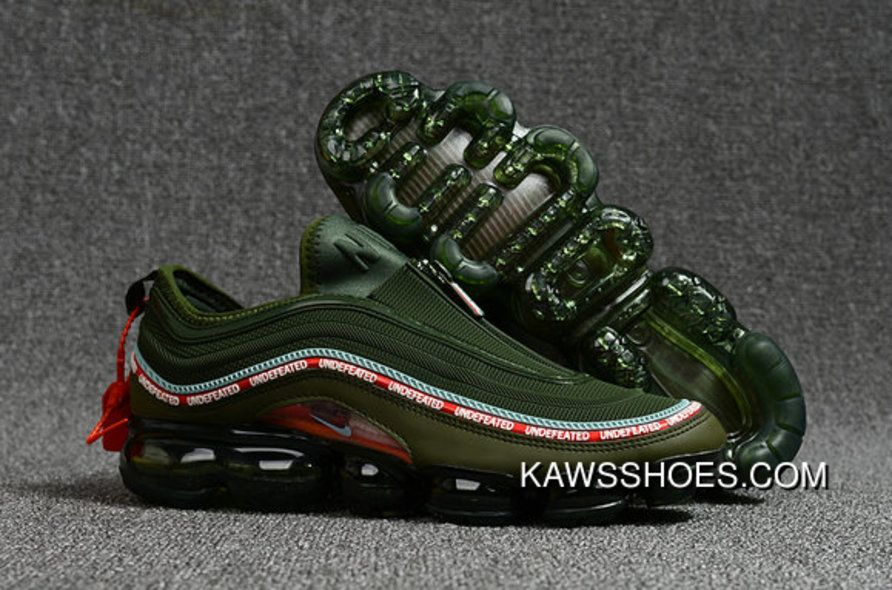 4241a8805d 2018 Nike Air Vapormax 97 Mens Army Green Red Super Deals in 2019 ...