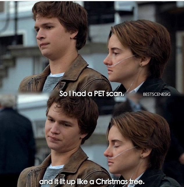 Lit Up Like A Christmas Tree.Lit Up Like A Christmas Tree The Fault In Our Stars The
