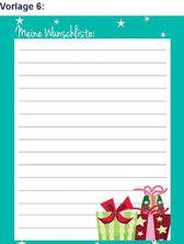 Weihnachtskarten Aldi Süd.Aldi Süd Wunschzettel Vorlagen Wunschzettel Weihnachten