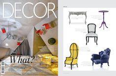 #BRABBU in Revista Decor, Brazil  NAMIB Armchair http://brabbu.com/en/upholstery/namib-armchair.php