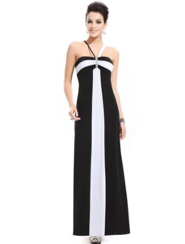 Ever Pretty Classic Striped Stunning Rhinestone Long Evening Gowns