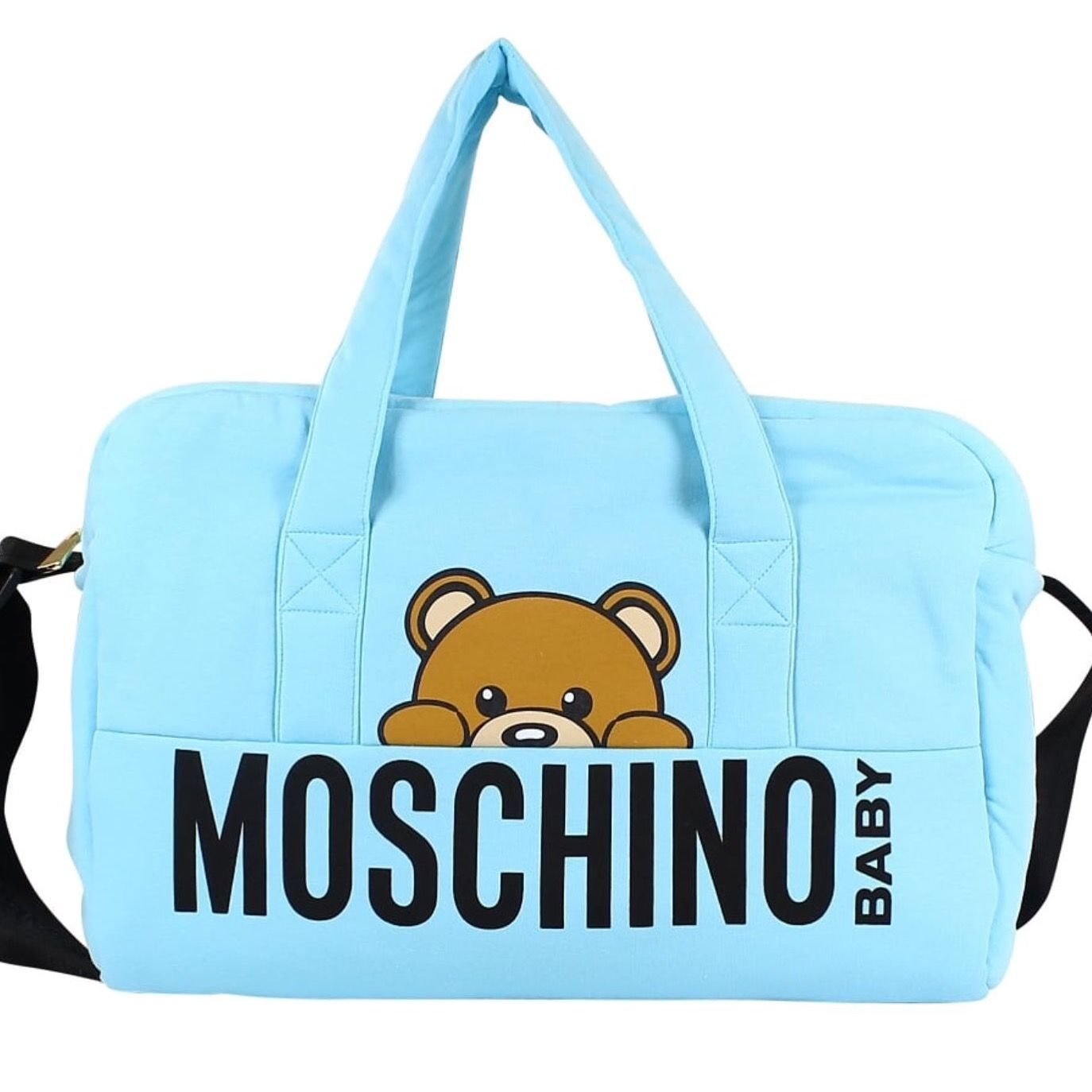 cbc54ccafe1 New Arrival: Gorgeous Moschino changing bag also in pink #fashion #moschino  #bags