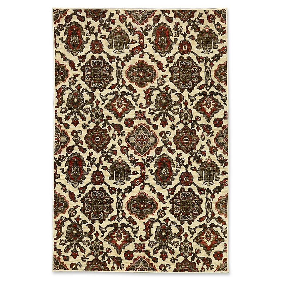 Mohawk Home Valorous Traditional Multicolored 5 X 7 Area Rug
