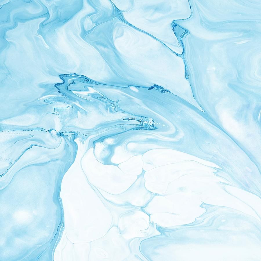 Water Color Oceanic Baby Blue Marble Backdrop 6856 Blue Marble