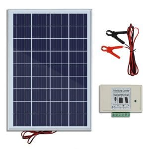 Eco Worthy 20w Ip65 Solar With 3 Amp Charger Controller Solar Panels Solar Energy Panels Solar