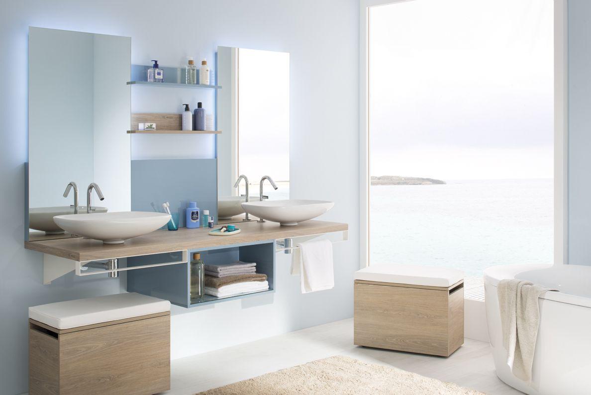 Salle de bain esprit bord de mer : créez une décoration zen ...