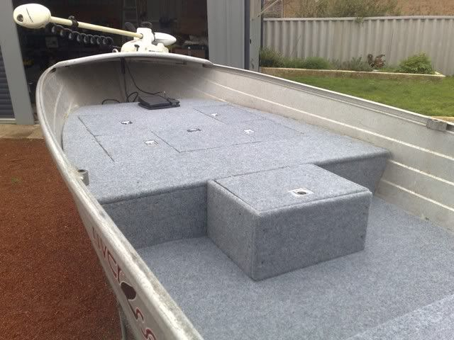 Fitting Out My Tinny Bream Master Forums Aluminum Boat Boat