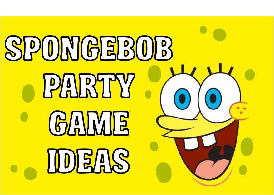 DIY Spongebob Party Games & Ideas Spongebob party