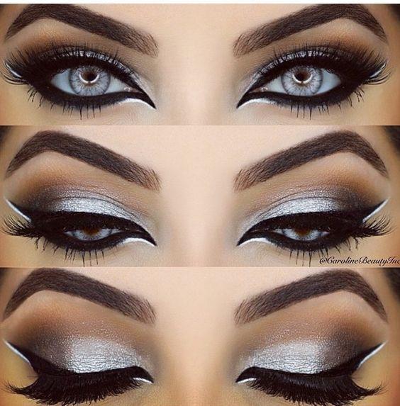 98baa835dbf Silver Eye Makeup   Eye Shade Ideas you Should Try