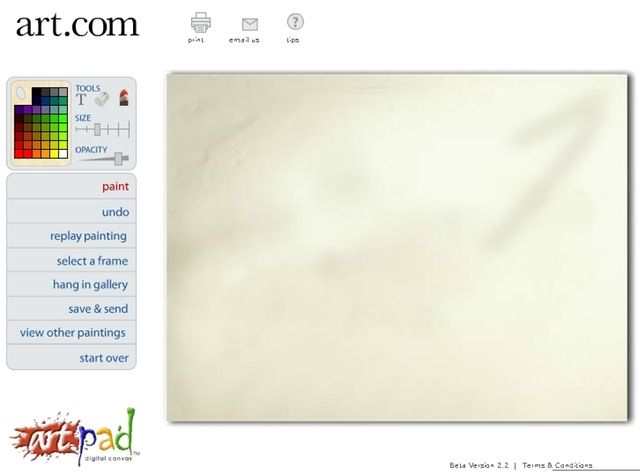 Drawing (not only) in a museumIT tool: online painting ArtPad http ...