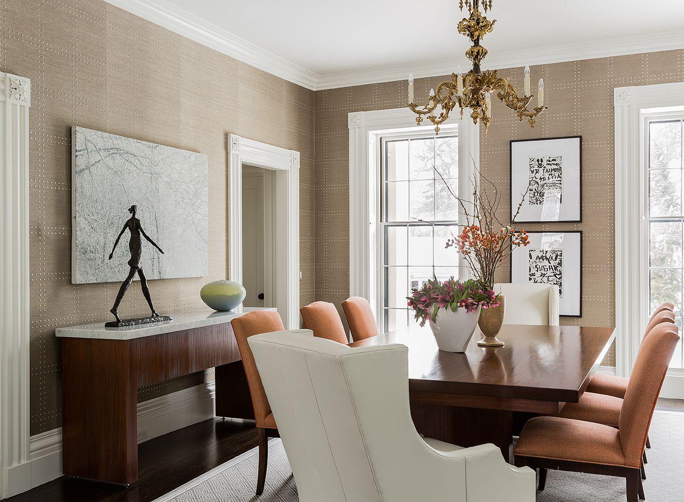 jamaica pond residence - elms interior design - dining room