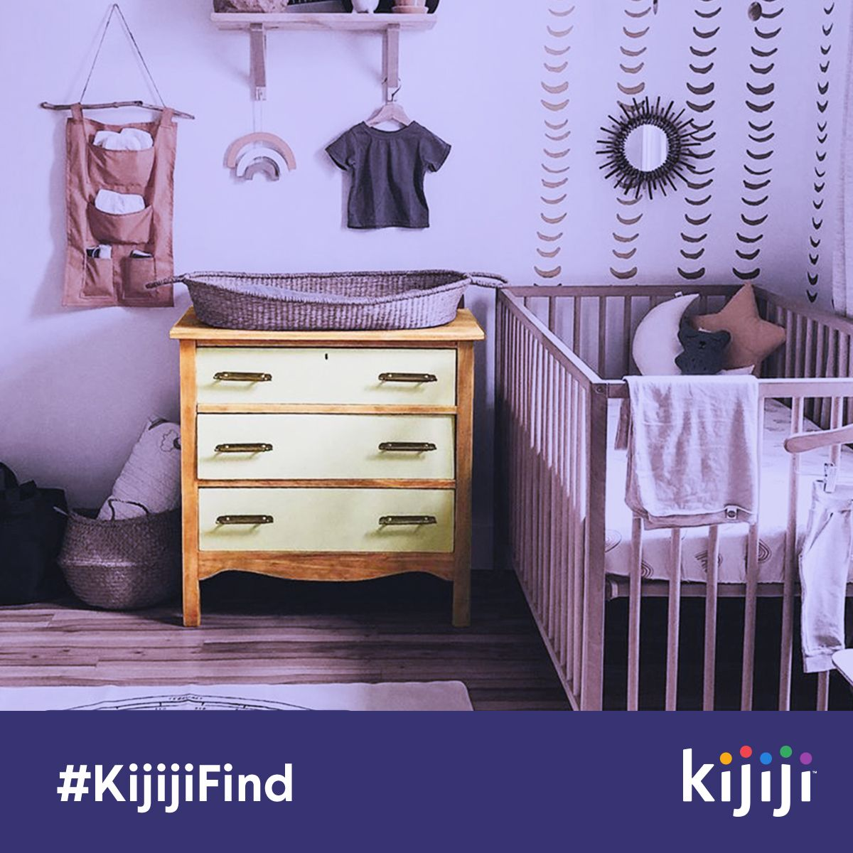 Baby's room idea: turn a #KijijiFind into a changing table ...