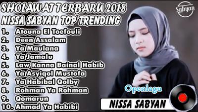 Terlengkap Kumpulan Lagu Nissa Sabyan Mp3 Terpopuler Full Album