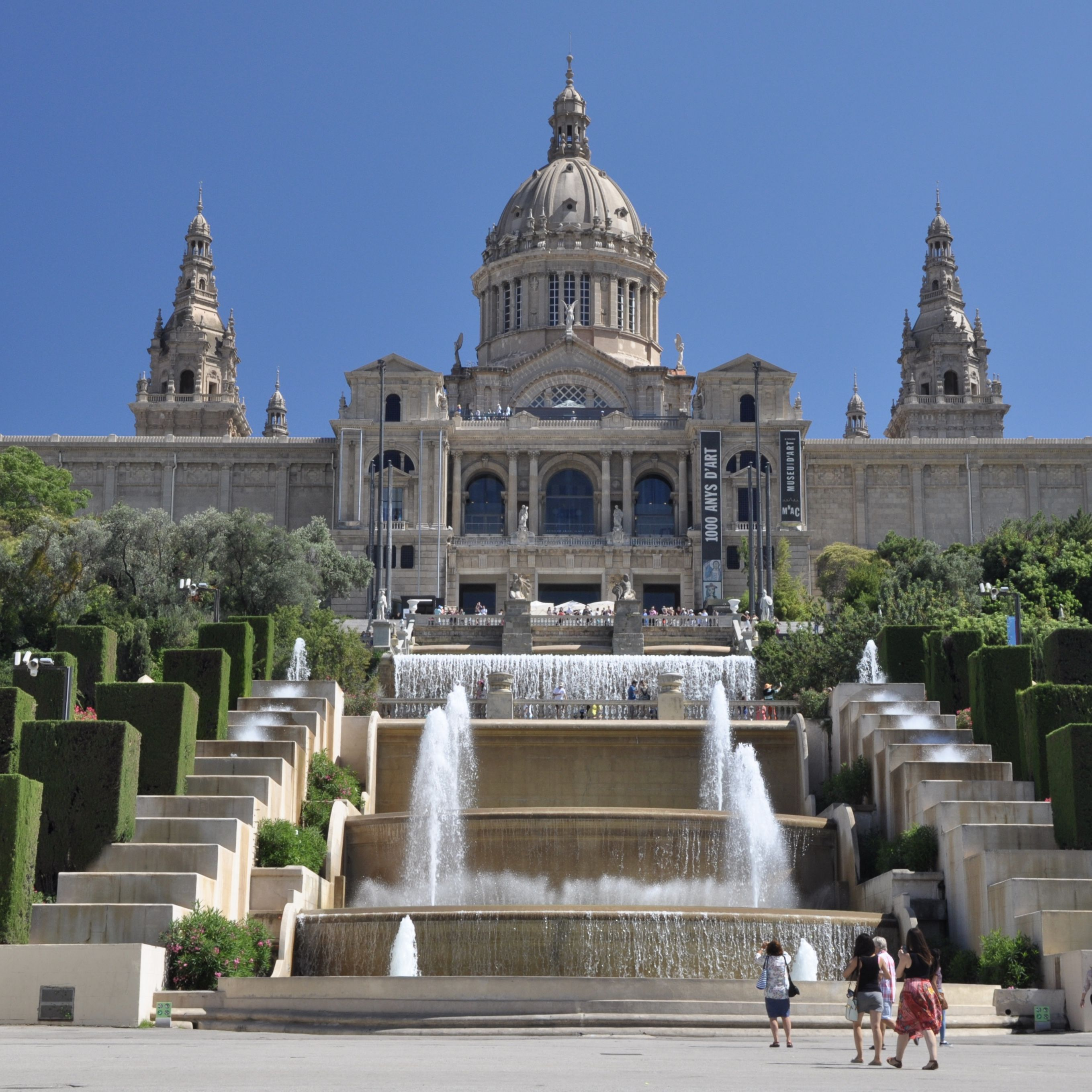 Check my 5-day itinerary for inspiration on things to do in Barcelona, Spain. Museum of Catalan Art in Barcelona.