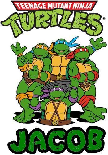 Car Window Sticker Turtle Power Teenage Mutant Ninja Turtles Hero TMNT Cartoon