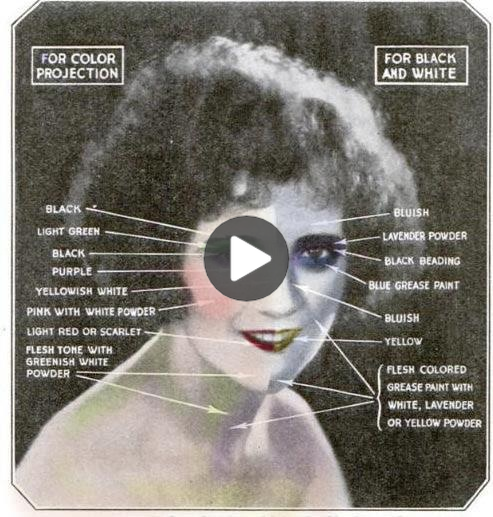 Authentic 1920 Makeup Tutorial #1920smakeup Natural yet alive was the appearance…
