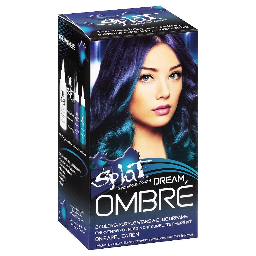 Splat Hair Color Kit Sinful Silver In 2020 Splat Hair Color Men Hair Color Girl With Purple Hair
