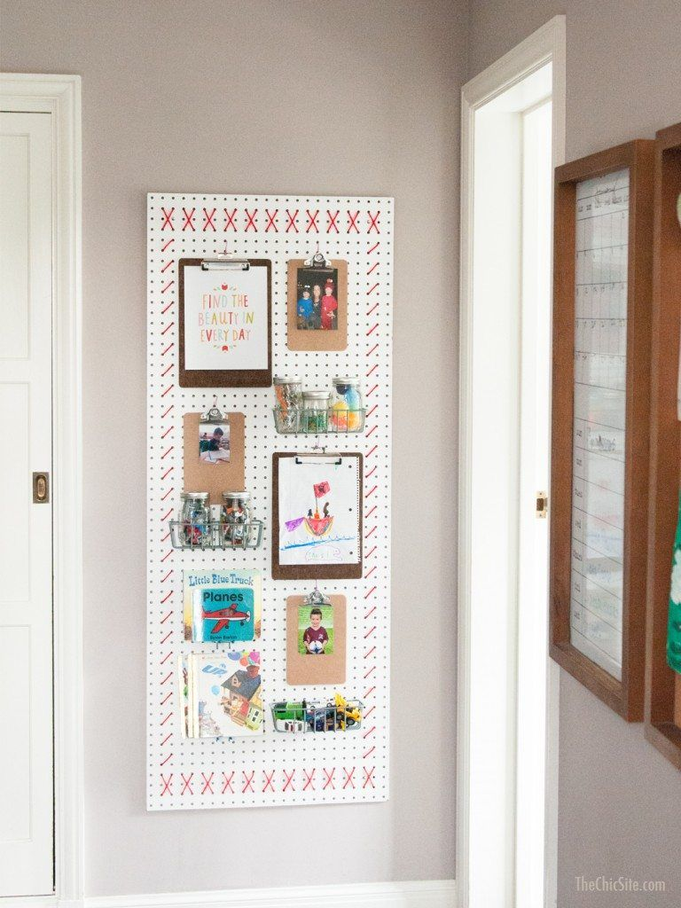Pegboard Wall Art For The Home Pinterest Wall Wall