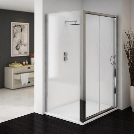 Newark 1200 X 760mm Sliding Door Shower Enclosure Online Now Shower Enclosure Square Shower Enclosures Sliding Doors
