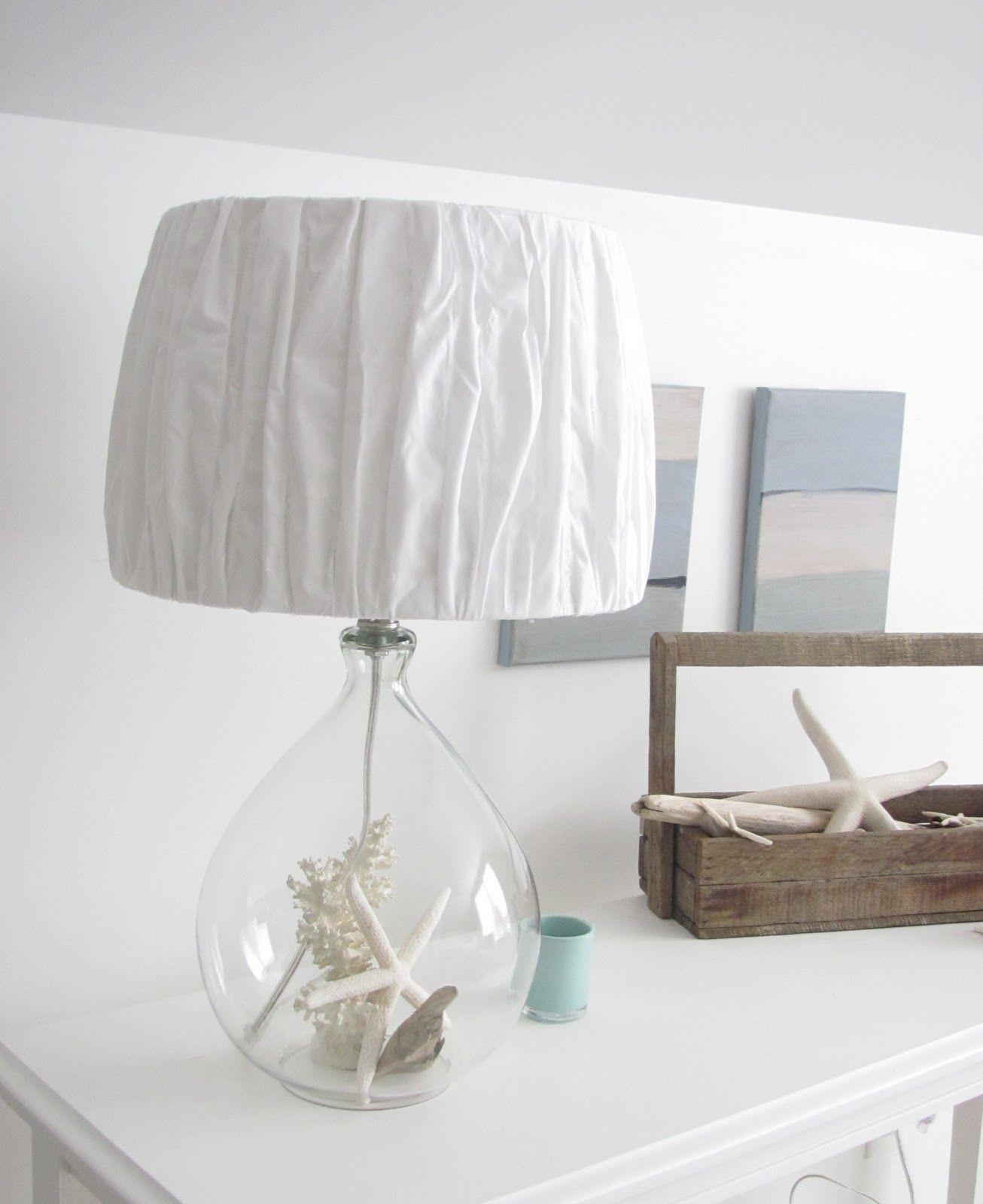 Emerald Cove: Pillowcase Lamp Shade