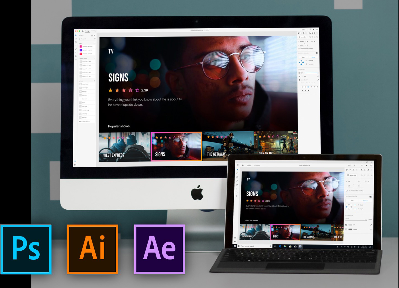 Adobe Xd Assets And Apps On Any Platform Web Design Tools Web Design Tool Design
