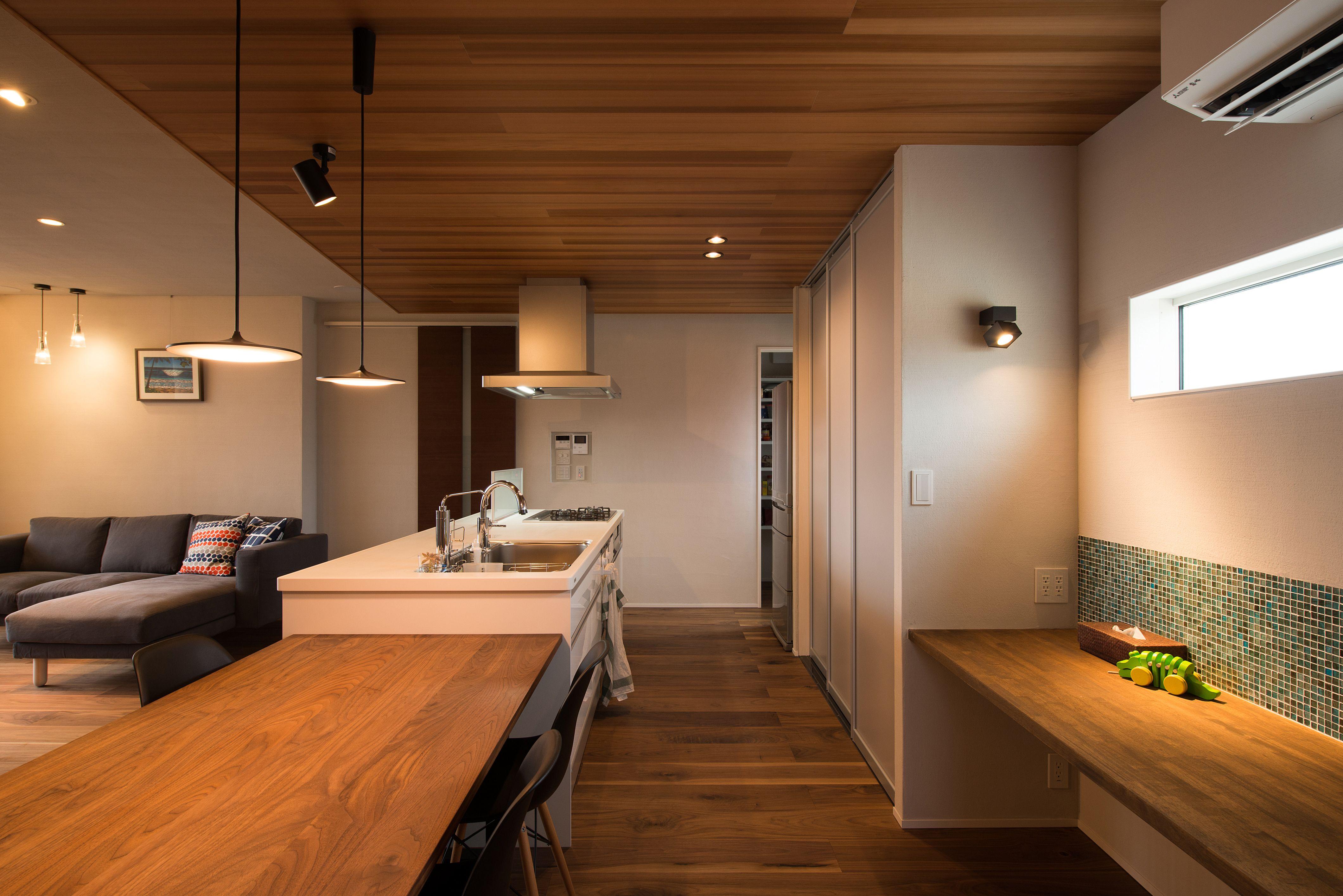 Ue Bo Design ウエボデザイン 注文住宅 施工事例 キッチン