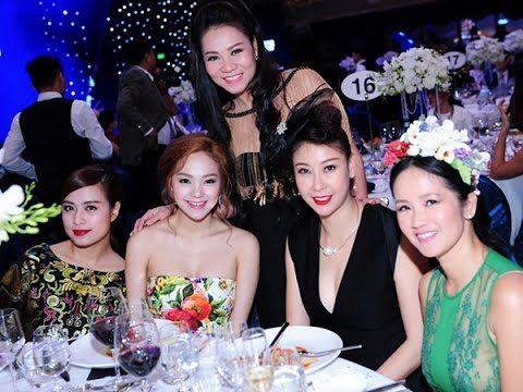 Ca Sĩ Diễn Viên | Dàn sao dự tiệc của vợ chồng Thu Minh !