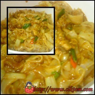 Resepi Kuey Teow Goreng Basah Mudah Dan Sedap Food Ethnic