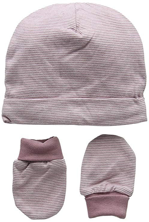 Mamas and Papas Baby Boys Multi Stripe Hat /& Mitts