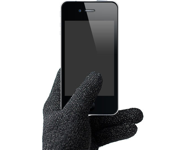 touchscreen gloves.  MUST get these for winter!