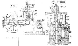 First page clipping of GB470284 (A) Woodward patent