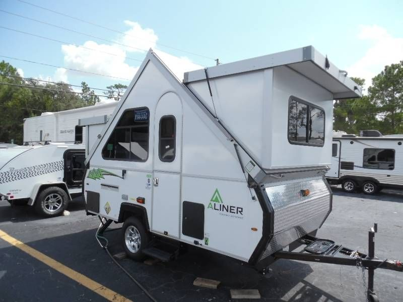 2016 Aliner Classic LXE FRONT AND REAR HARD DORMERS