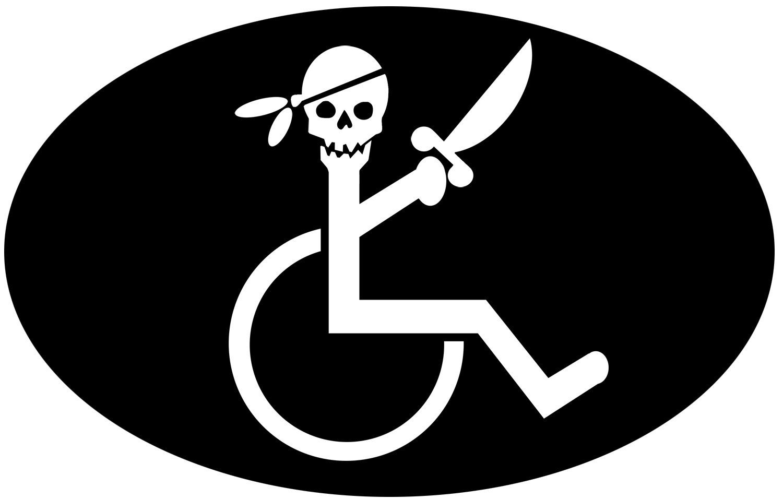 Bumper Sticker Wheelchair Funny Stickers Bumper Stickers Wheelchair [ 956 x 1500 Pixel ]