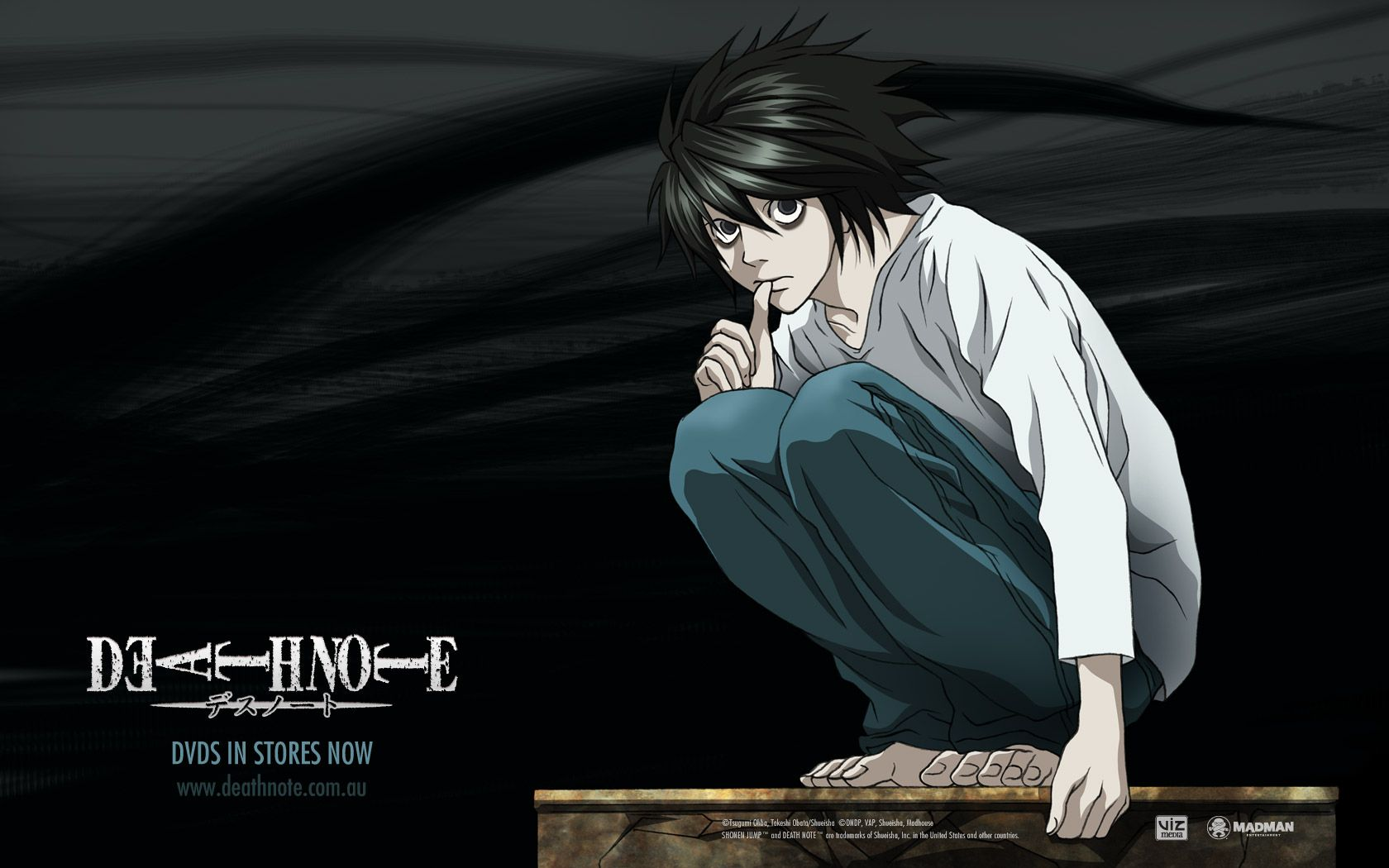 Death Note Death Note L Death Note Anime