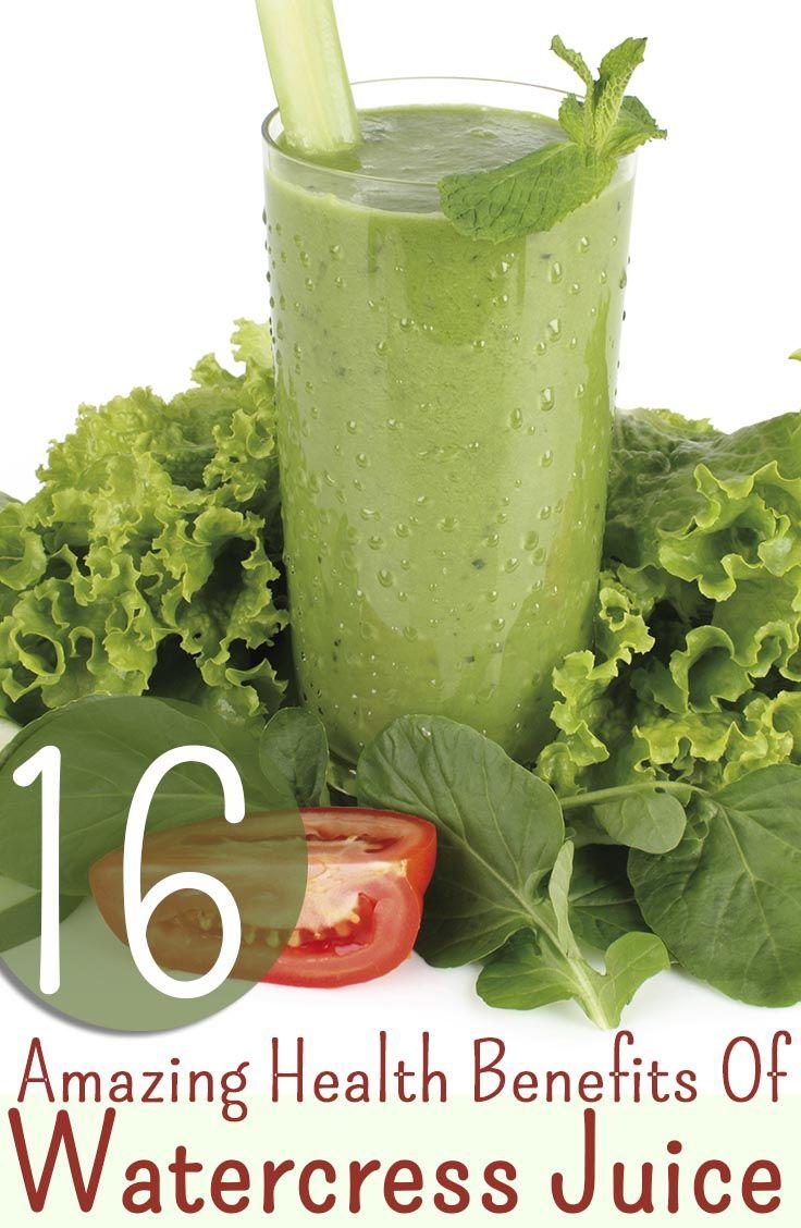 16 Amazing Health Benefits Of Watercress Juice And 2 Yummy Recipes