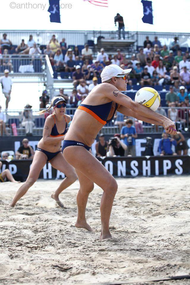 Jen Kessy Back To Pass Beach Volleyball Volleyball Swimwear
