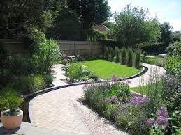 Garden Designs For Triangular Gardens - Google Search | Container Garden Design, Garden Design, Garden Ideas Long Narrow