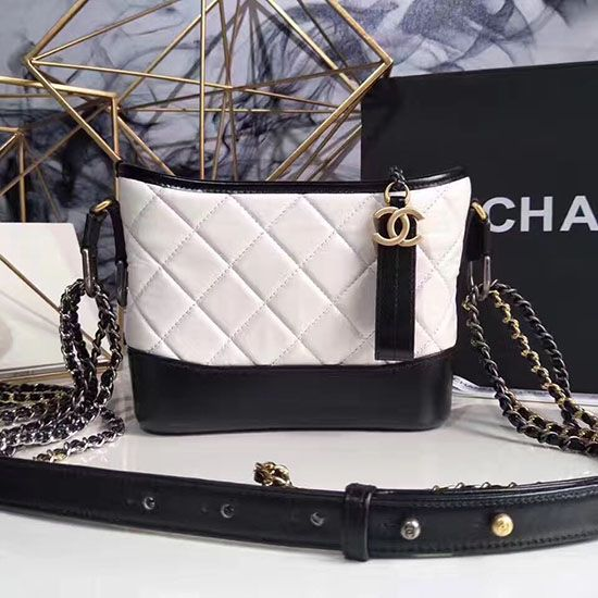 704acec55a1e31 Chanel Gabrielle Small Hobo Bag White A91810 | Chanel Shoulder Bags ...