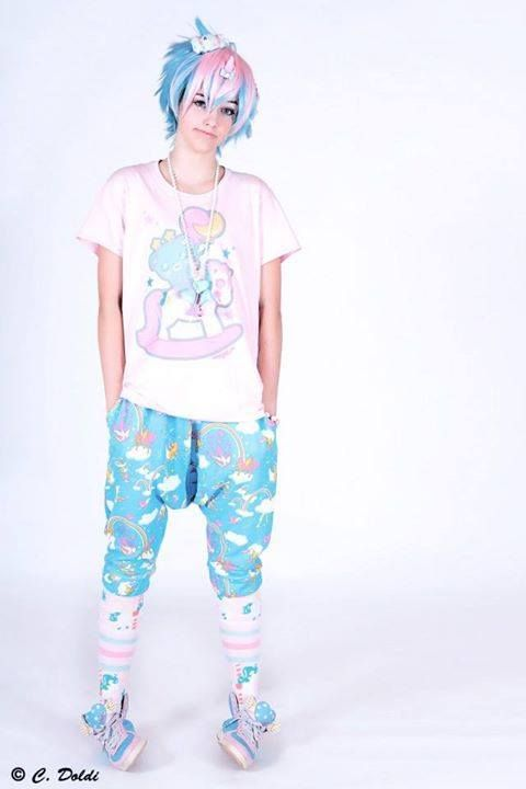 Fairy kei \u2022 boy \u2022 clothes