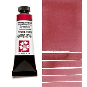 Anthraquinoid Red Pr177 T Daniel Smith Art Red Watercolor