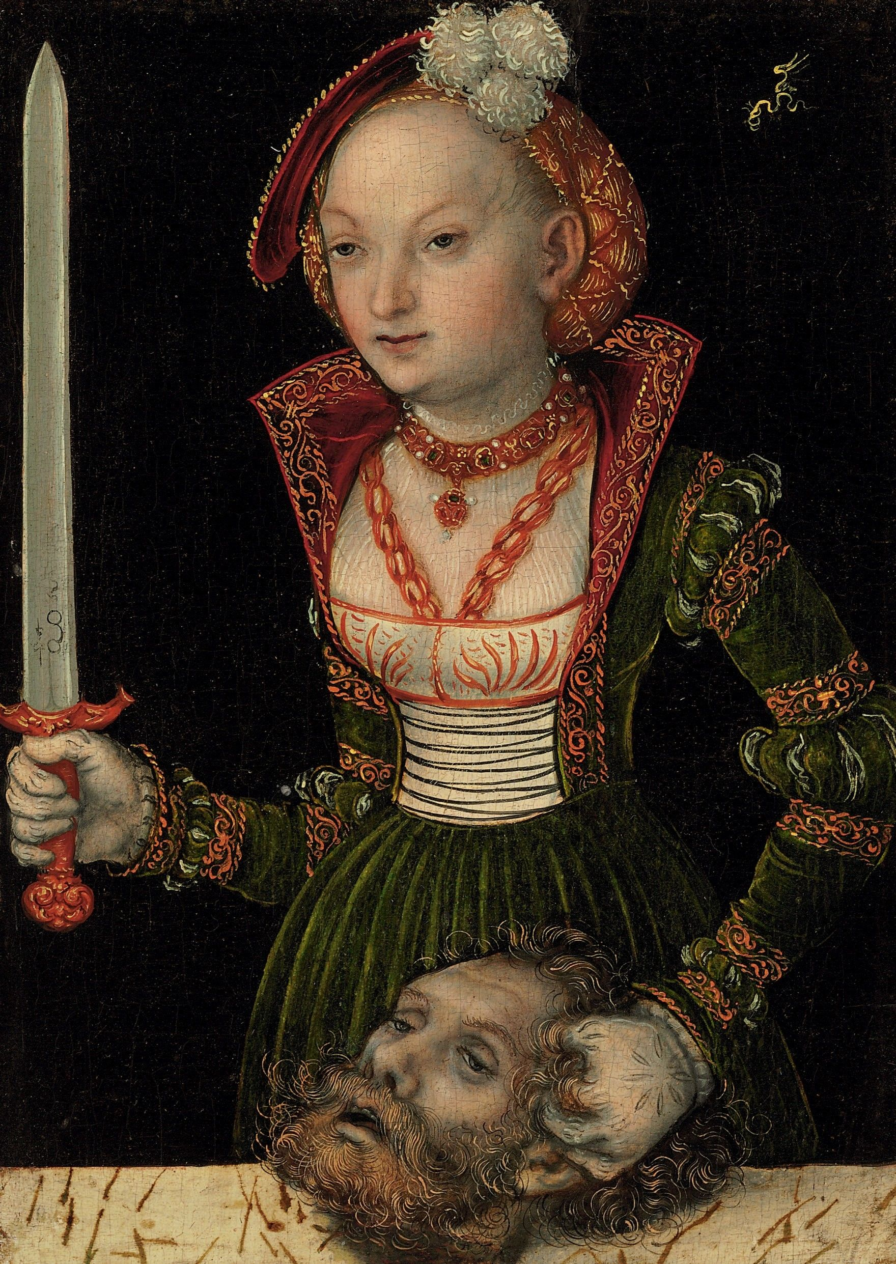LUCIUS CRANACH PAINTING | The Art Institute provided a wonderful ...