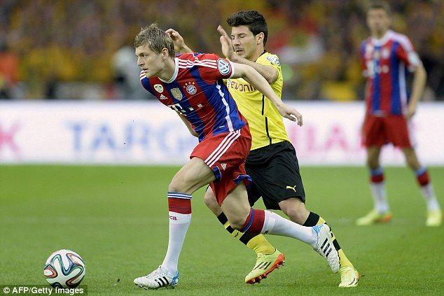 Done Deal Manchester United Have Agreed A Deal To Sign Bayern Munich Midfielder Toni Kroo Van Gaal Toni Kroos Sports