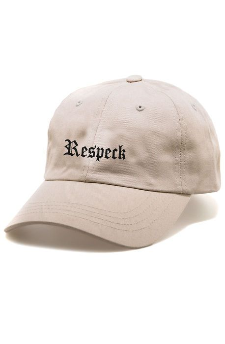 Templates The Respeck Dad Hat In Khaki Karmaloop