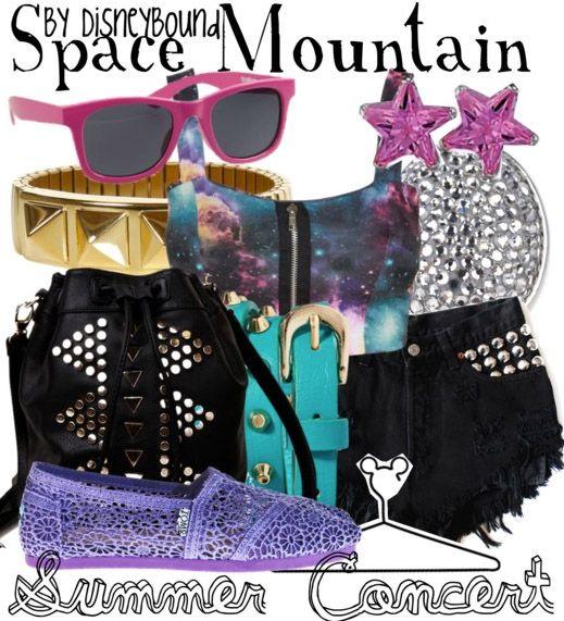Disney Bound - Space Mountain