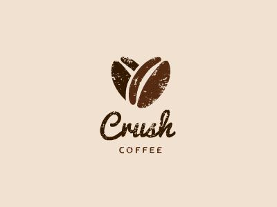 Crush Coffee Coffee Logo Logo Design Inspiration Coffee Shop Logo