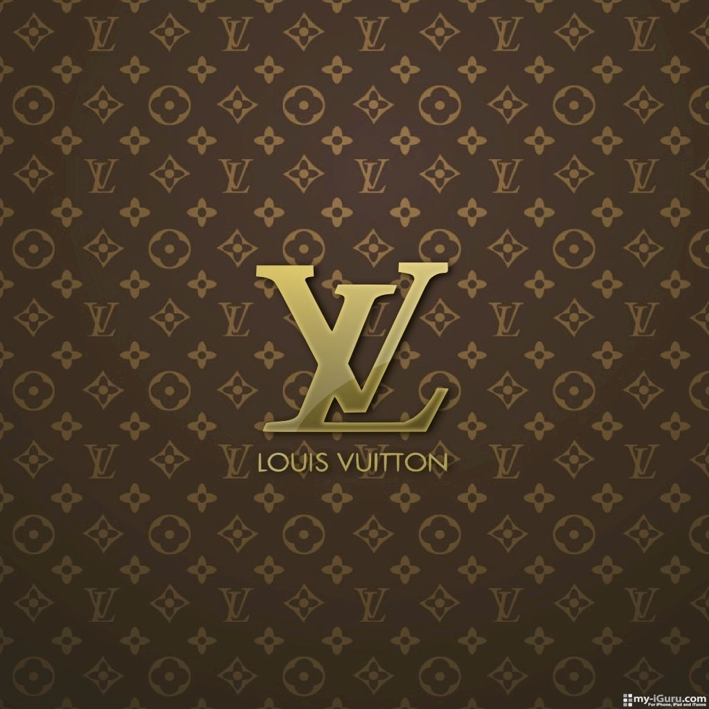 Louis Vuitton Logo Gold