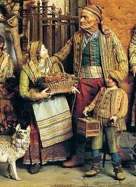 Il Presepe Napoletano è Il Vangelo Tradotto In Dialetto Partenopeo