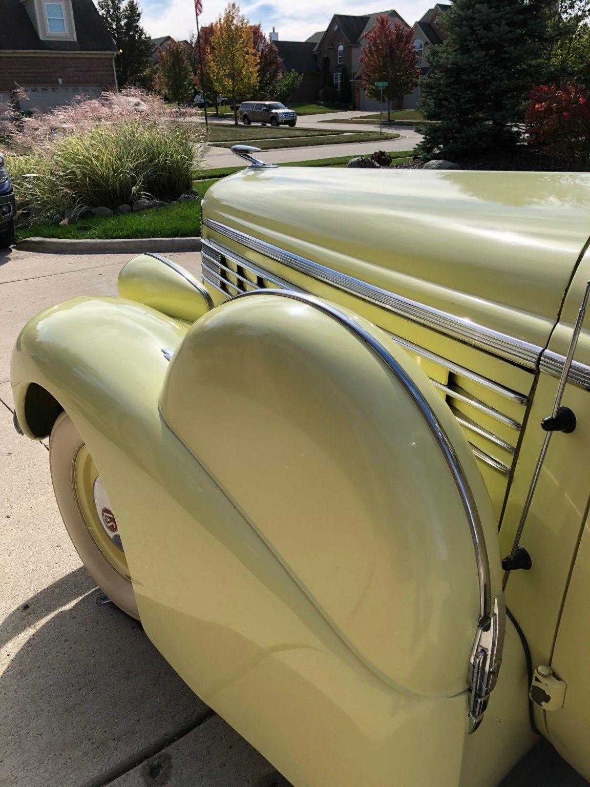 1938 Lasalle Series 50 Rumble Seat Convertible Coupe Lasalle Comfy Accent Chairs Seating